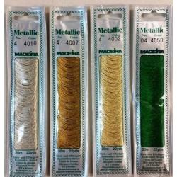 Мулине Madeira Metallic 4