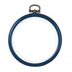 Кръг ф7.5 cm син, червен, цвят дърво