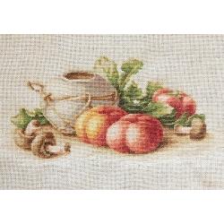 Натюрморт със зеленчуци