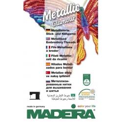 Каталог Madeira Metallic машинна/ръчна бродерия