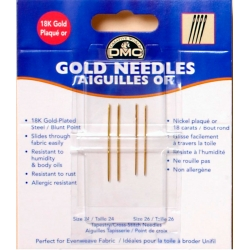 Gold Needles Златни Игли №22, №24, №26