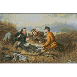 Почивката на ловците