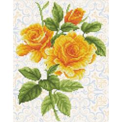 Букет от жълта роза