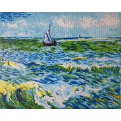 Морски пейзаж в Света Мария (Ван Гог)